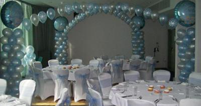 Beautiful Wedding Balloon Decoration