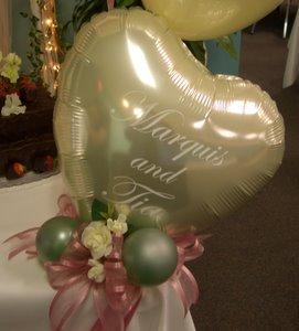 Balloon Centerpiece for Anniversary