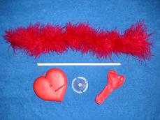 Marabou Balloon Heart - Materials
