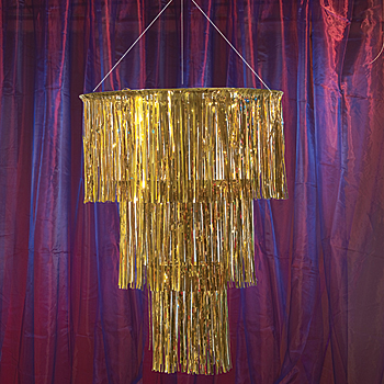 Tinsel Chandelier