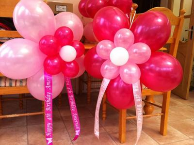 Pink Balloon Flowers