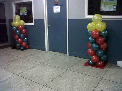 Small Balloon Columns