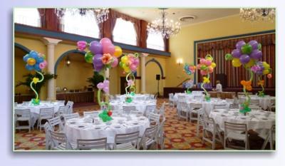 Balloon Flower Centerpieces