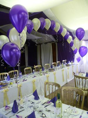 String-of-Pearl Balloon Arch