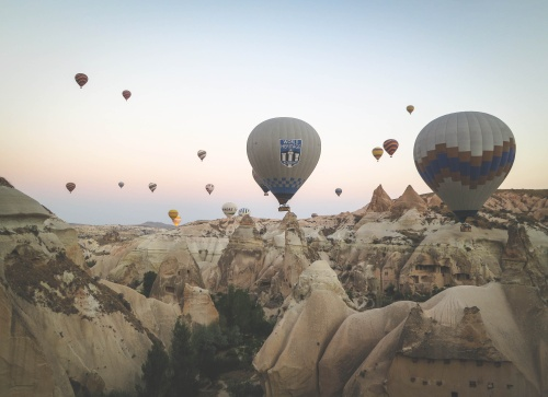 Hot Air Balloon Picture, Found at StockSnap