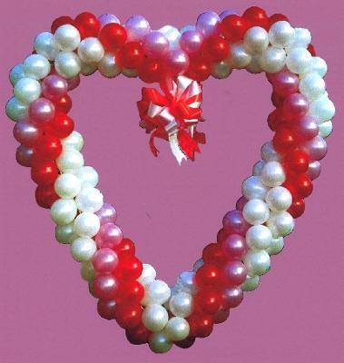 Balloon Heart for Wall Decor