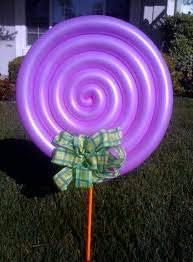Lollipop Balloon