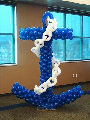Balloon Anchor Sculpture