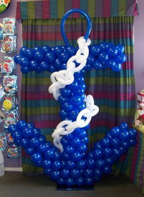 Balloon Anchor [Image found at Pinterest]