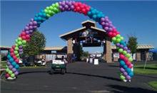 Balloon Arch at Deschutes County Fair Grounds