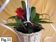 Valentine Balloon Bouquet, Step 11