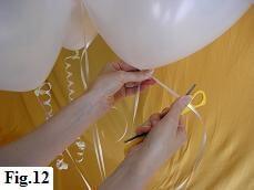 Valentine Balloon Bouquet, Step 12
