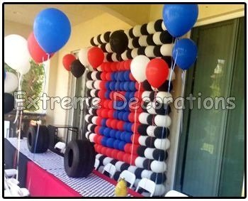 Where could i buy that balloon grid to make a balloon wall for Balloon decoration guide